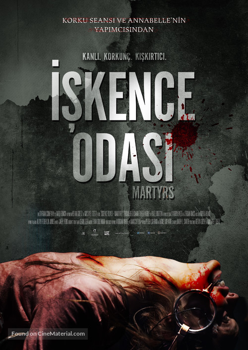 Martyrs - Turkish Movie Poster