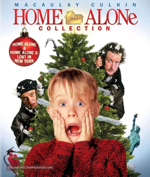 Home Alone - Blu-Ray cover