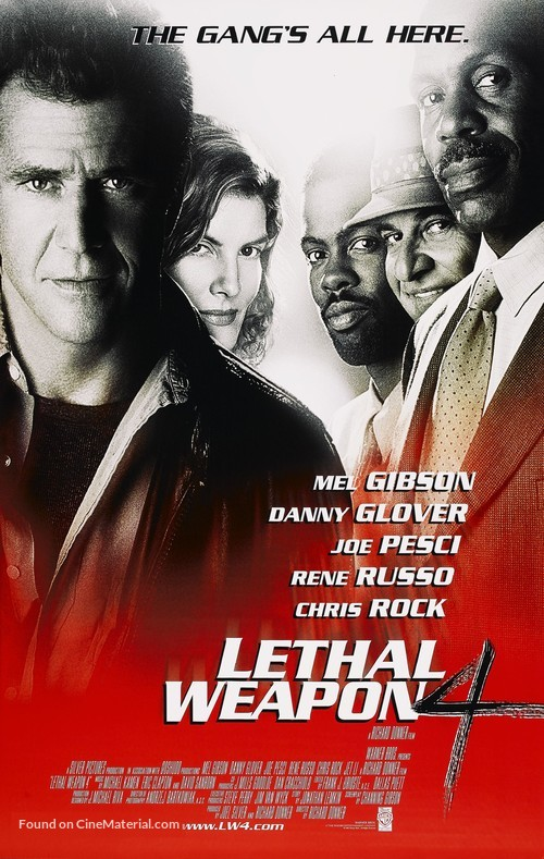 Lethal Weapon 4 - Movie Poster