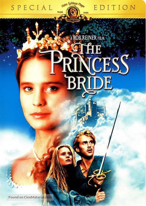 The Princess Bride - DVD movie cover