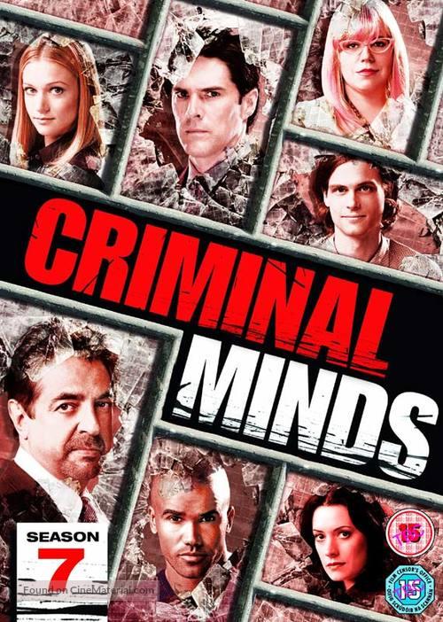 """Criminal Minds"" - British DVD movie cover"
