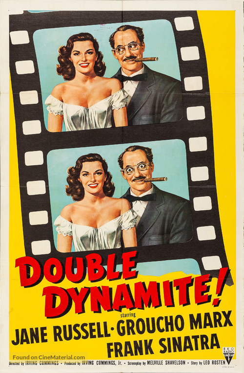 Double Dynamite - Movie Poster