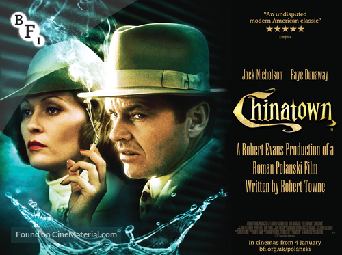 Chinatown - British Movie Poster