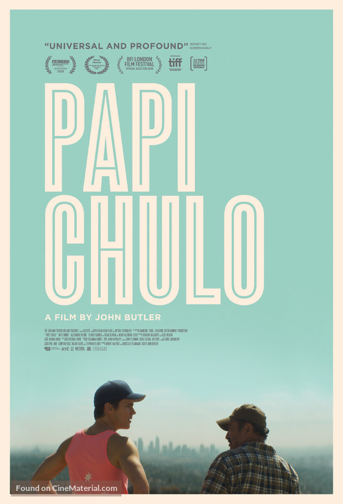 Papi Chulo - Movie Poster