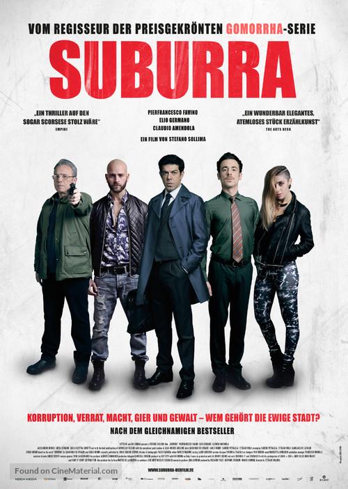 Suburra - German Movie Poster