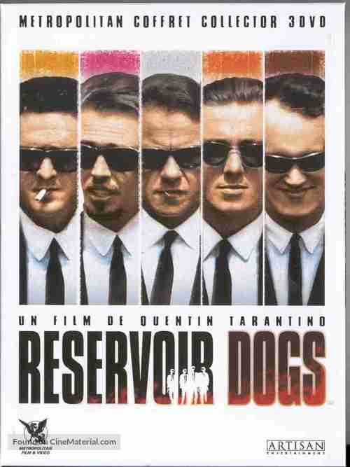 Reservoir Dogs - French Movie Cover
