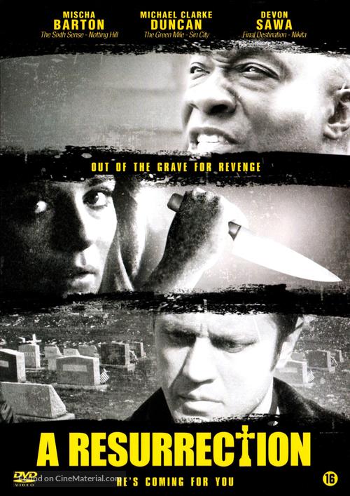 A Resurrection - Dutch DVD movie cover
