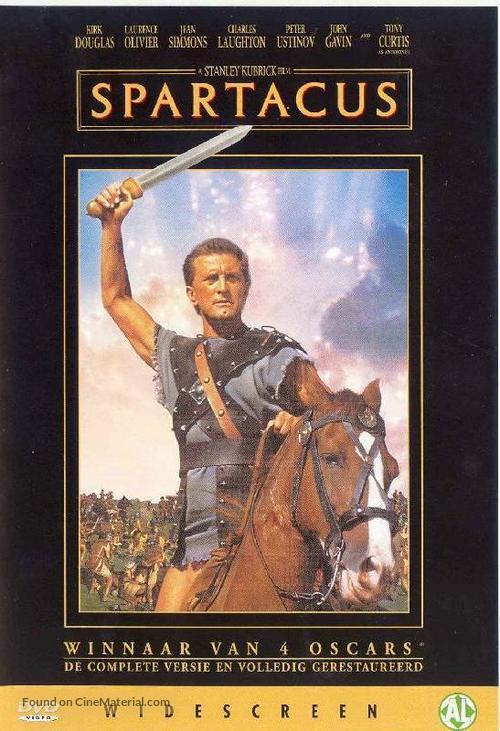 Spartacus - Dutch Movie Cover