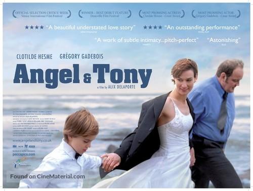 Angèle et Tony - British Movie Poster
