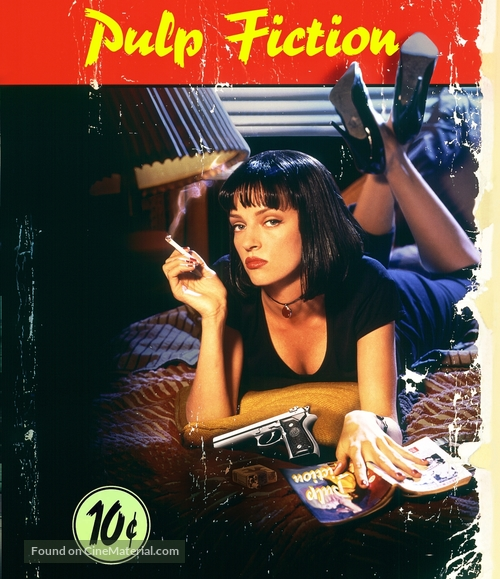 Pulp Fiction - German Blu-Ray movie cover