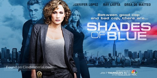 """Shades of Blue"" - Movie Poster"