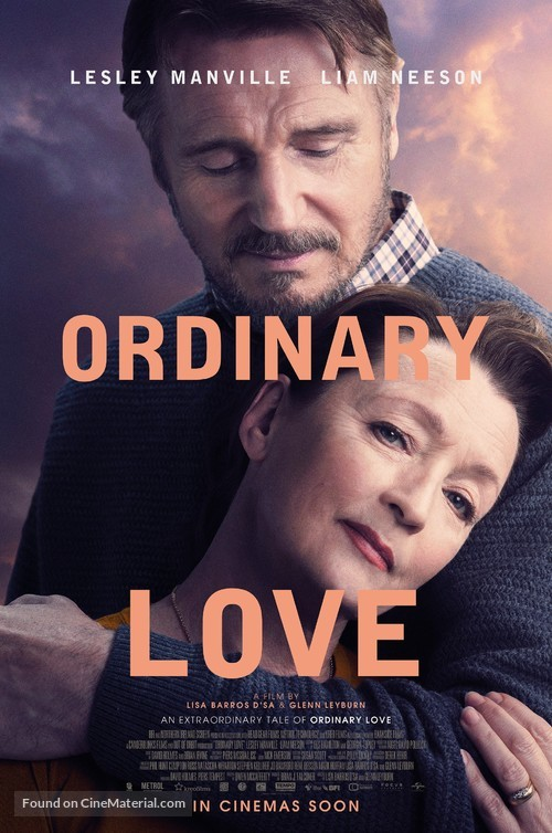 Ordinary Love - British Theatrical movie poster
