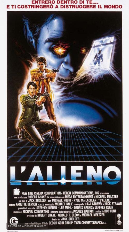 The Hidden - Italian Movie Poster