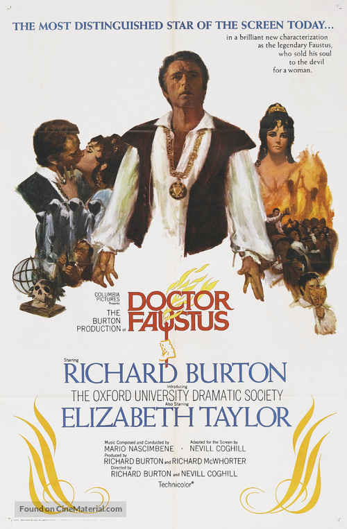 Doctor Faustus - Movie Poster
