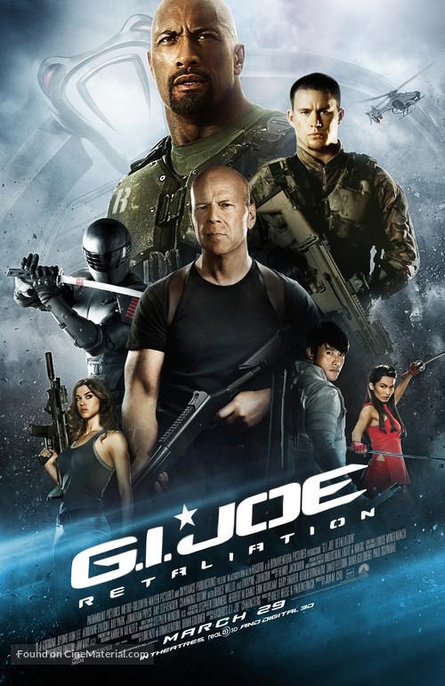G.I. Joe: Retaliation - Canadian Movie Poster