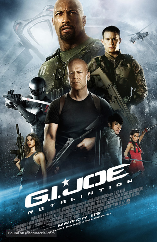 G.I. Joe: Retaliation - Movie Poster