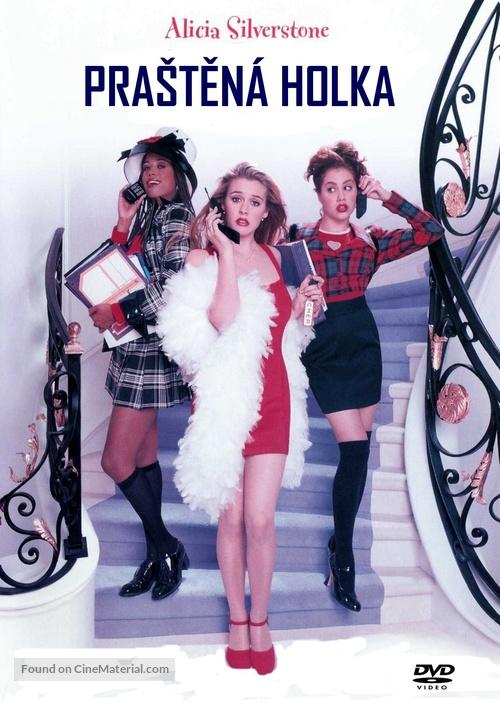 Clueless - Czech DVD cover