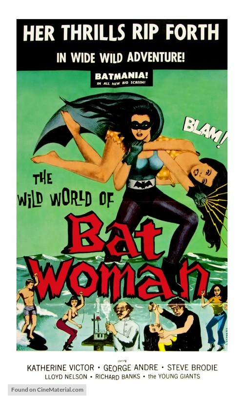 The Wild World of Batwoman - Movie Poster