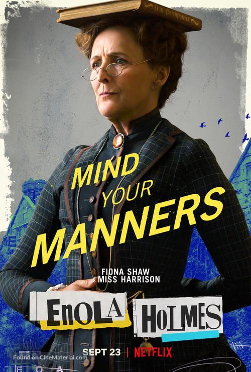 Enola Holmes - Movie Poster
