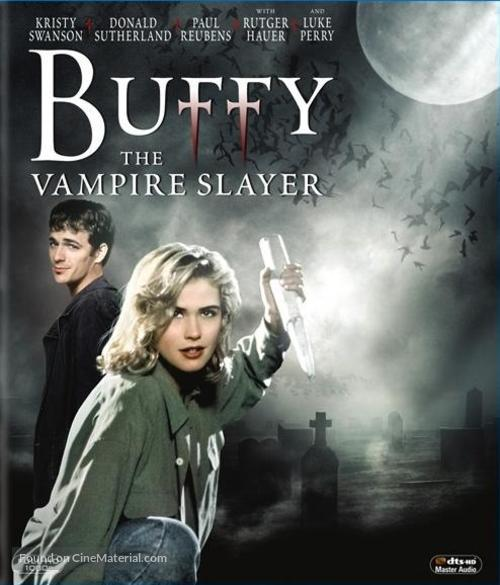 Buffy The Vampire Slayer - Blu-Ray movie cover