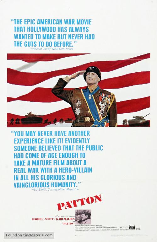 Patton - Movie Poster