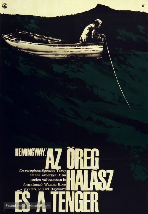 The Old Man and the Sea - Hungarian Movie Poster