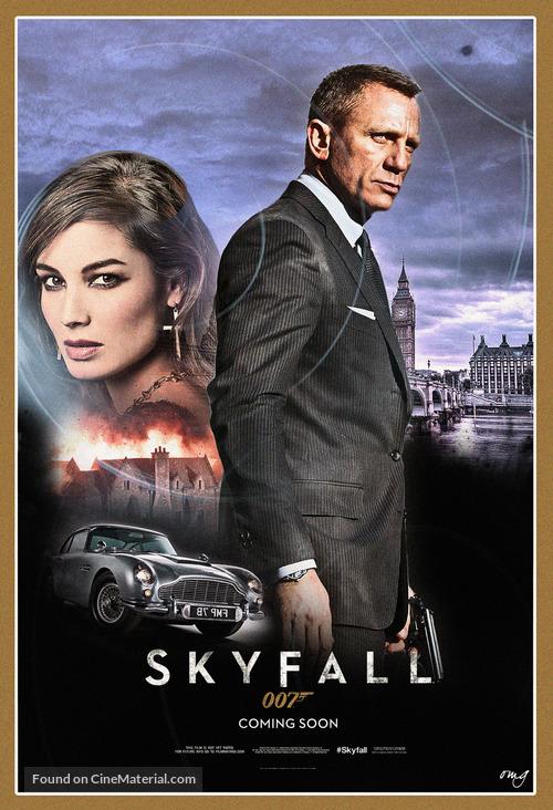Skyfall - poster