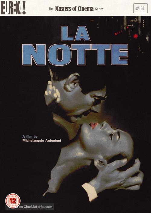 La notte - British DVD movie cover