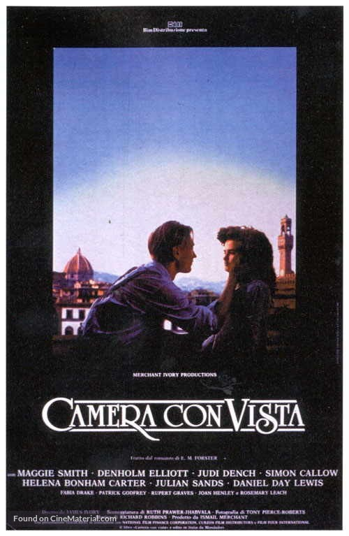 A Room with a View - Italian Movie Poster