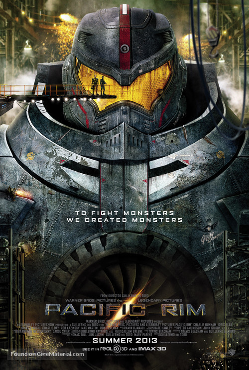 Pacific Rim - Movie Poster