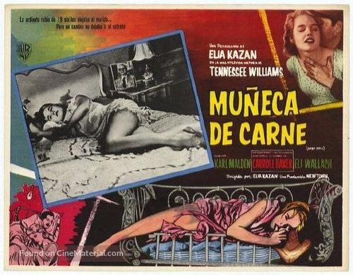 Baby Doll - Mexican Movie Poster