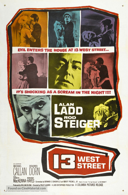 13 West Street - Movie Poster