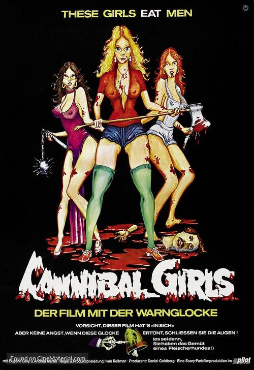Cannibal Girls - German Movie Poster