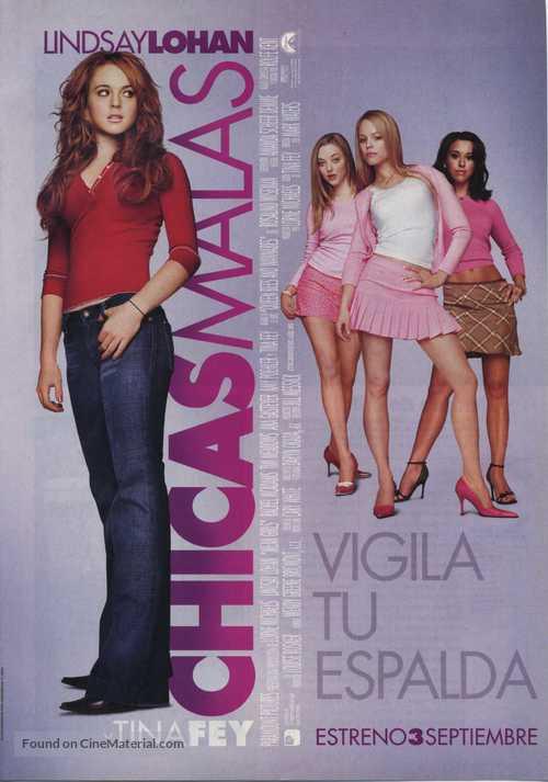 Mean Girls - Spanish Movie Poster