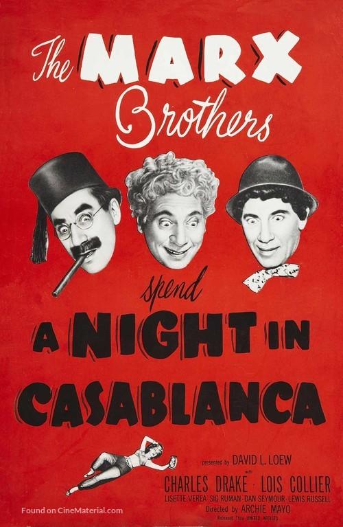 A Night in Casablanca - poster