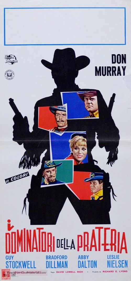 The Plainsman - Italian Movie Poster