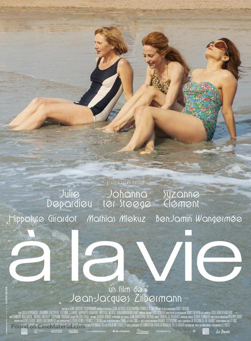 À la vie - French Movie Poster