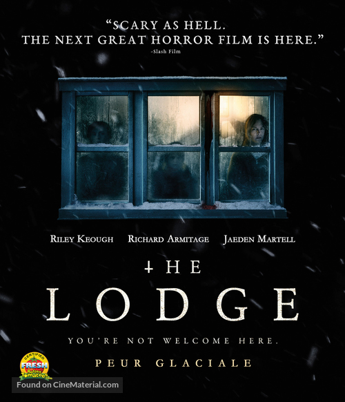 The Lodge - Canadian Blu-Ray movie cover