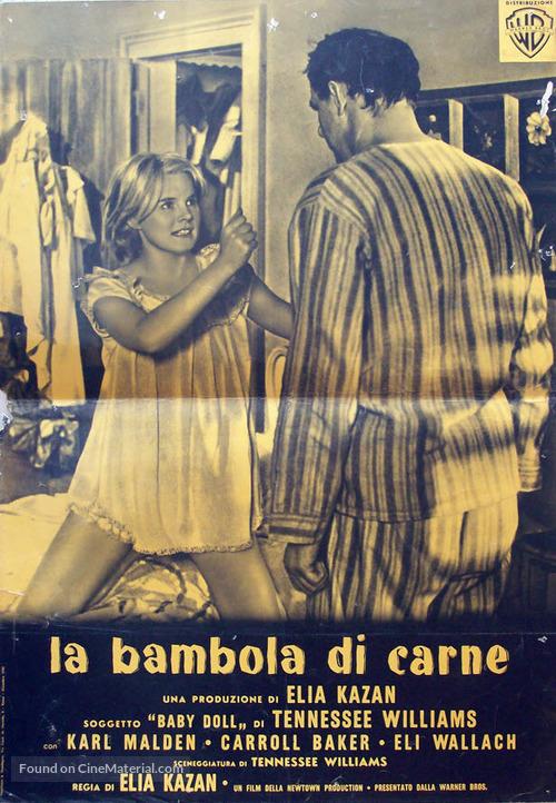 Baby Doll - Italian Movie Poster