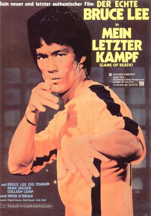 Game Of Death - German Movie Poster