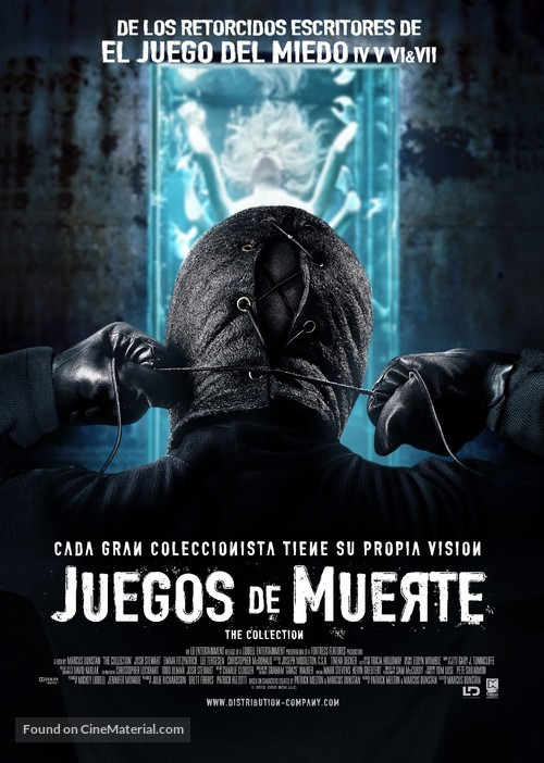 The Collection - Argentinian Movie Poster