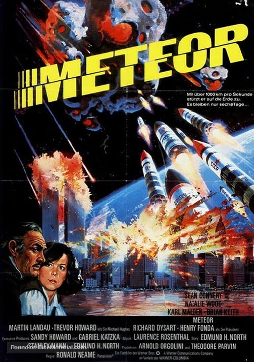 Meteor - German Movie Poster