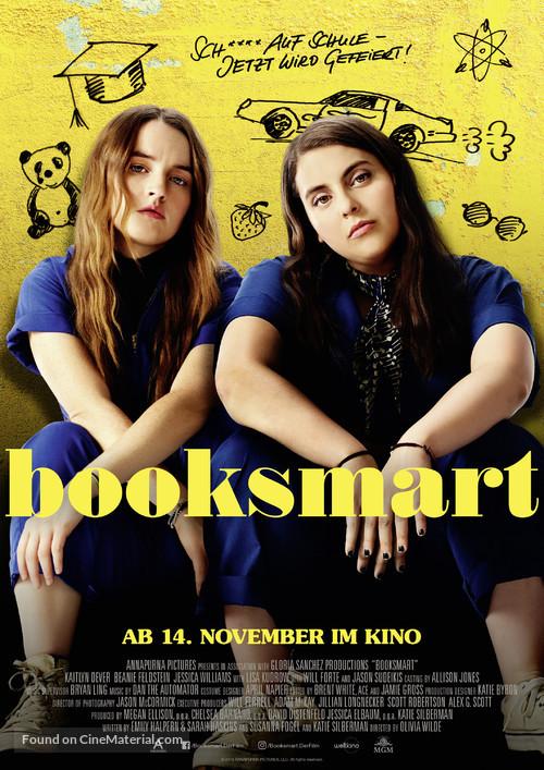 Booksmart - German Movie Poster