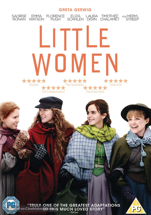 Little Women - British DVD movie cover