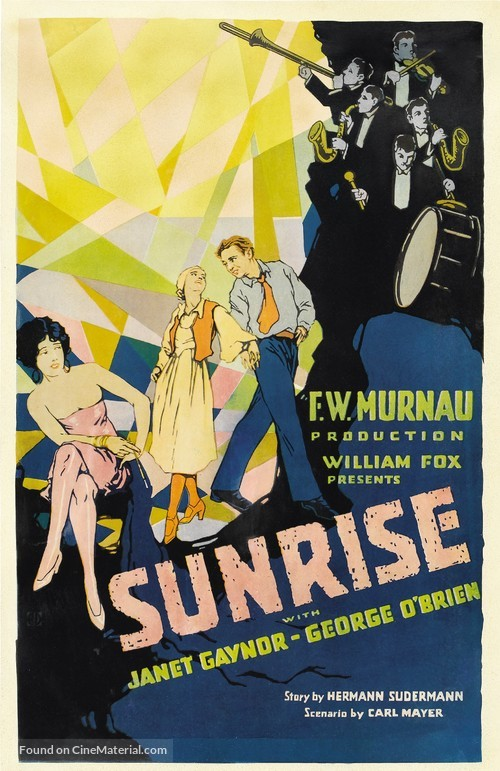 Sunrise: A Song of Two Humans - Movie Poster