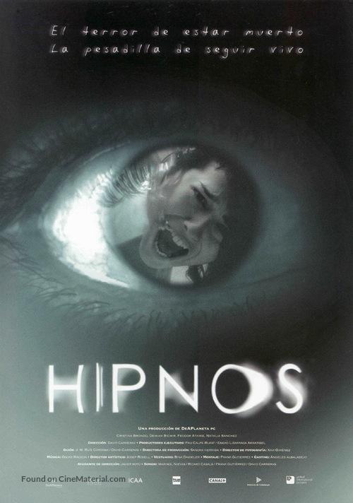Hipnos - Spanish Movie Poster