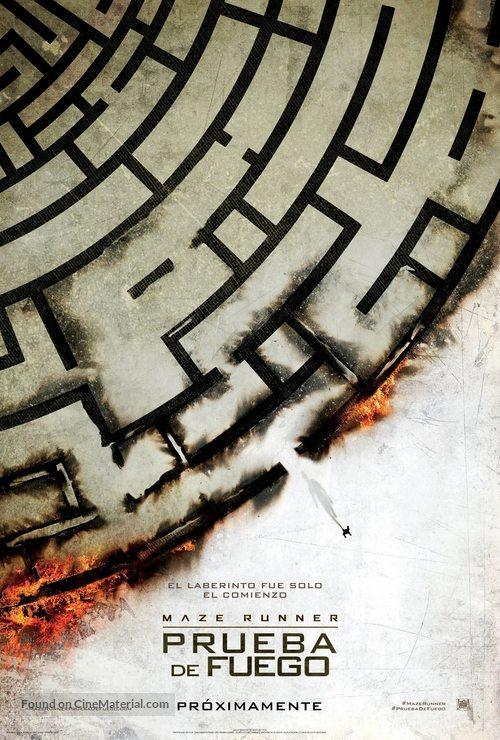 Maze Runner: The Scorch Trials - Mexican Movie Poster