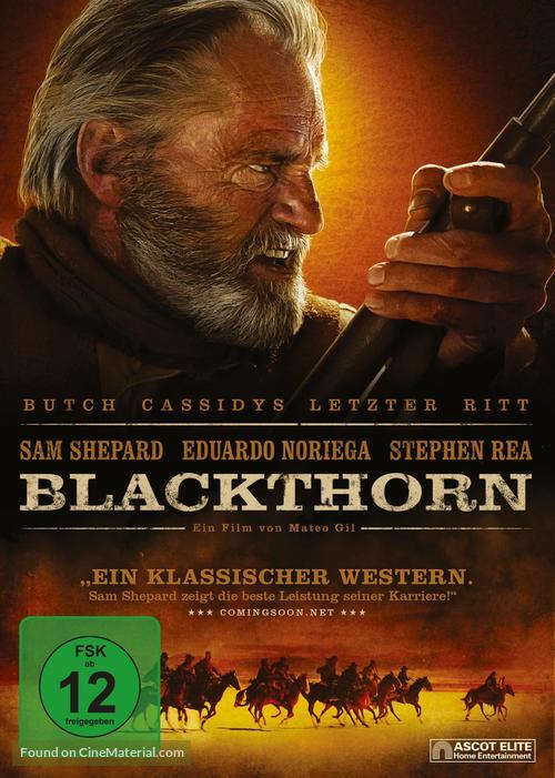 Blackthorn - German DVD movie cover