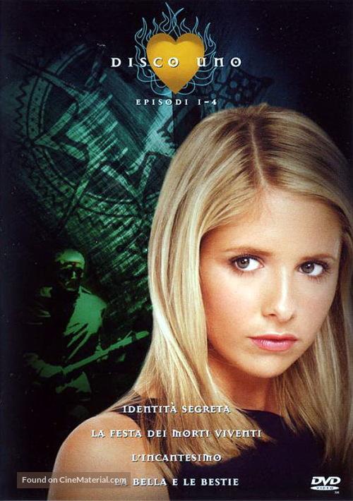 """""""Buffy the Vampire Slayer"""" - Italian Movie Cover"""