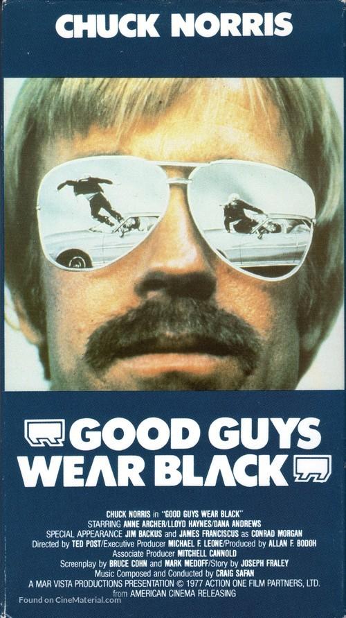 Good Guys Wear Black - VHS movie cover